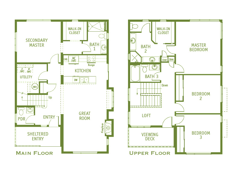 Timberland Homes Winslow 2 Floorplan