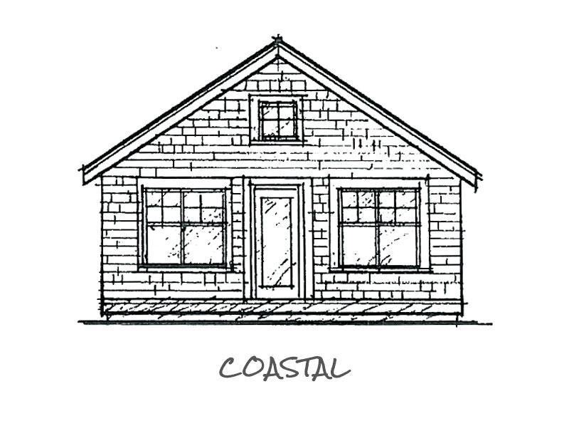 Timberland Homes Coastal Elevation