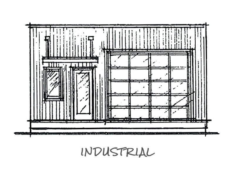 Timberland Homes Industrial Elevation