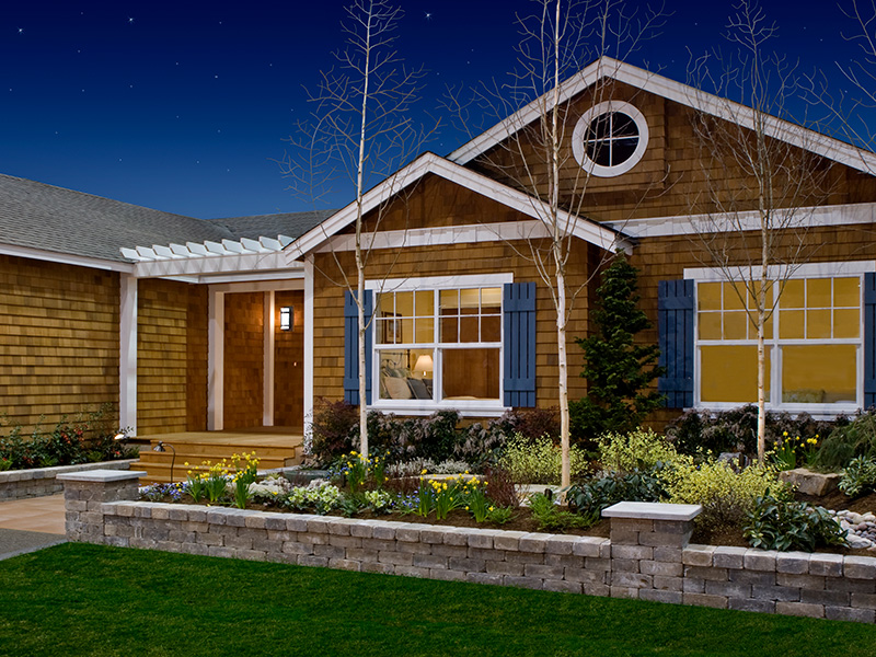 Timberland Homes has many Elevation Options to choose from