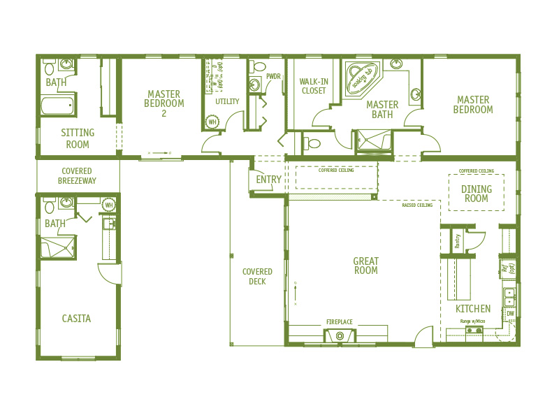 Timberland Homes Discovery Park Floorplan