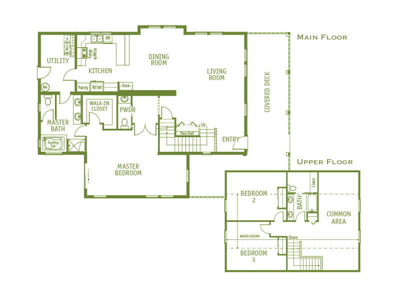 Timberland Homes Farm House Floorplan
