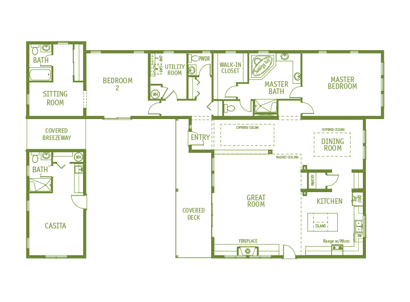 Timberland Homes Madison Park Floorplan