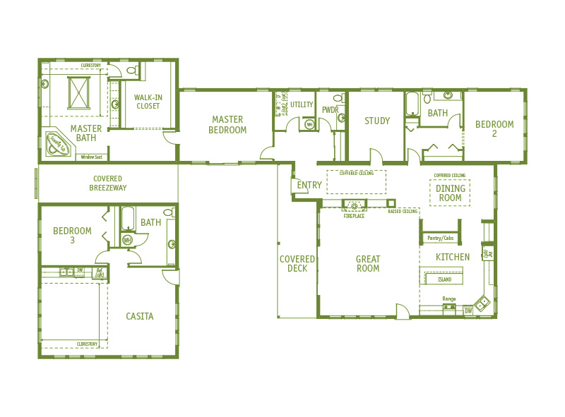 Timberland Homes Regency Park Floorplan
