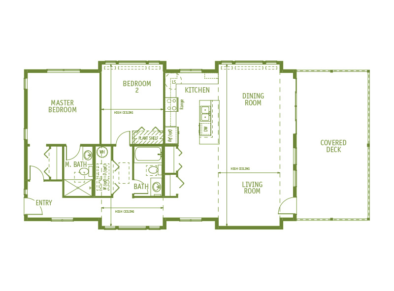 Timberland Homes Lopez Floorplan